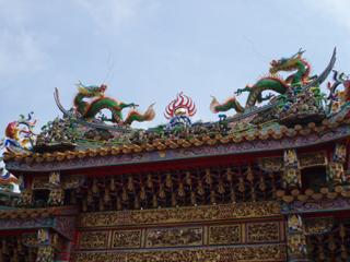 関帝廟門<裏>